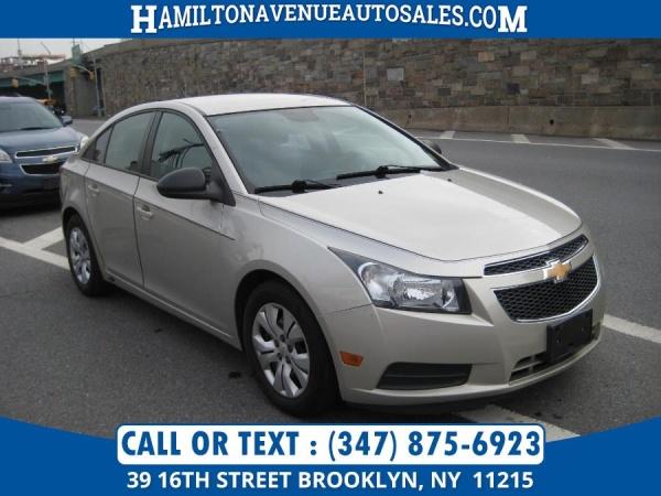 Chevrolet Cruze 2013 $4991.00 incacar.com