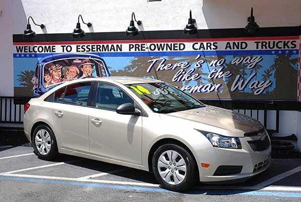 Chevrolet Cruze 2014 $10500.00 incacar.com
