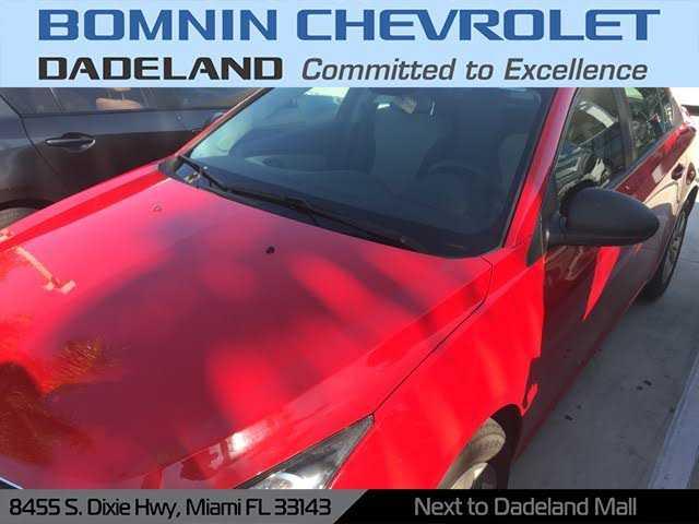 Chevrolet Cruze 2015 $6990.00 incacar.com