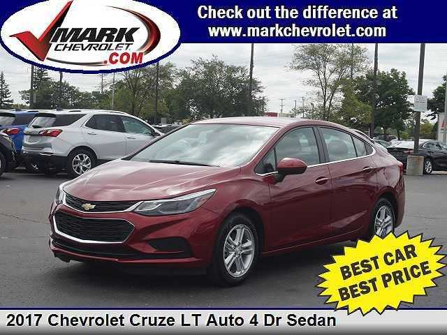 Chevrolet Cruze 2017 $15980.00 incacar.com