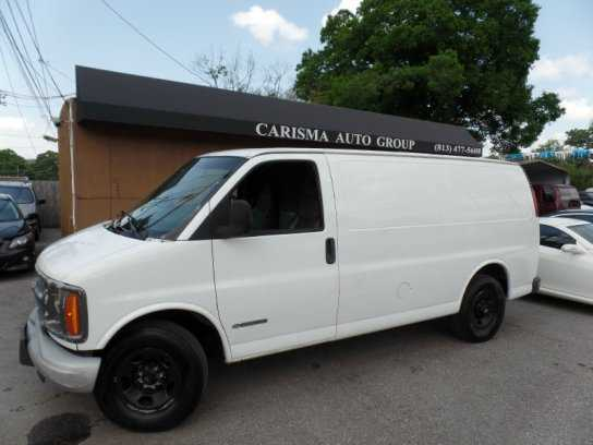 used Chevrolet Express 2002 vin: 1GCHG35R221159221