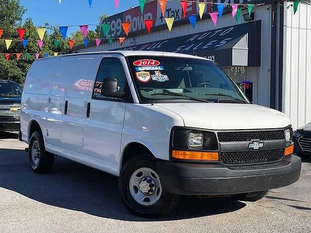 used Chevrolet Express 2014 vin: 1GCWGFFA1E1155361