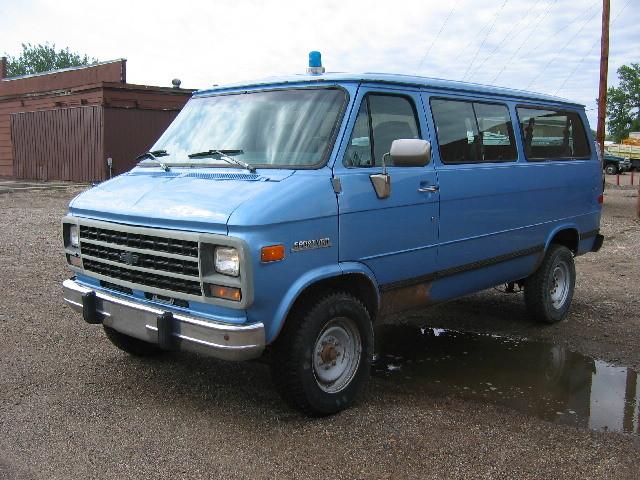 Chevrolet G-Series 1995 $4000.00 incacar.com
