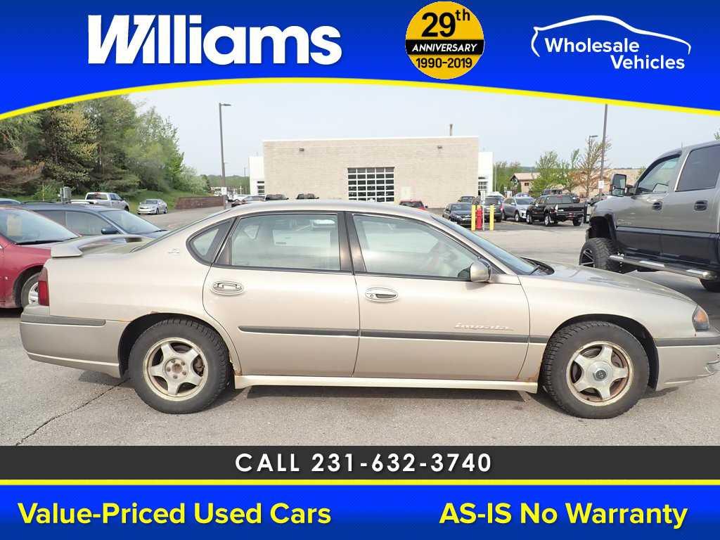 Chevrolet Impala 2001 $749.00 incacar.com