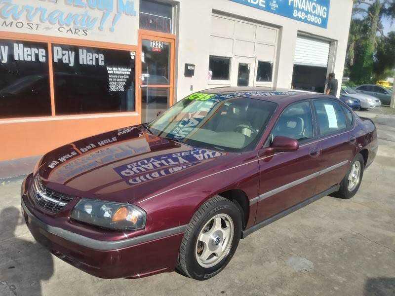 Chevrolet Impala 2003 $2995.00 incacar.com