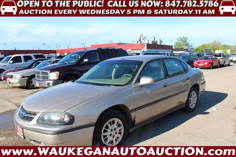 Chevrolet Impala 2003 $1000.00 incacar.com