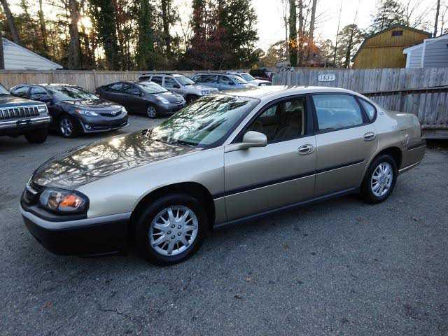 Chevrolet Impala 2004 $995.00 incacar.com