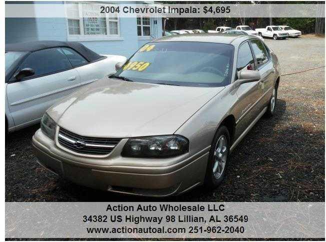 Chevrolet Impala 2004 $3395.00 incacar.com