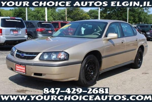Chevrolet Impala 2004 $3299.00 incacar.com