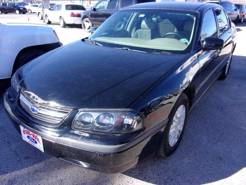 Chevrolet Impala 2004 $1750.00 incacar.com