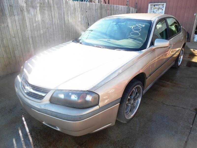 Chevrolet Impala 2005 $1595.00 incacar.com
