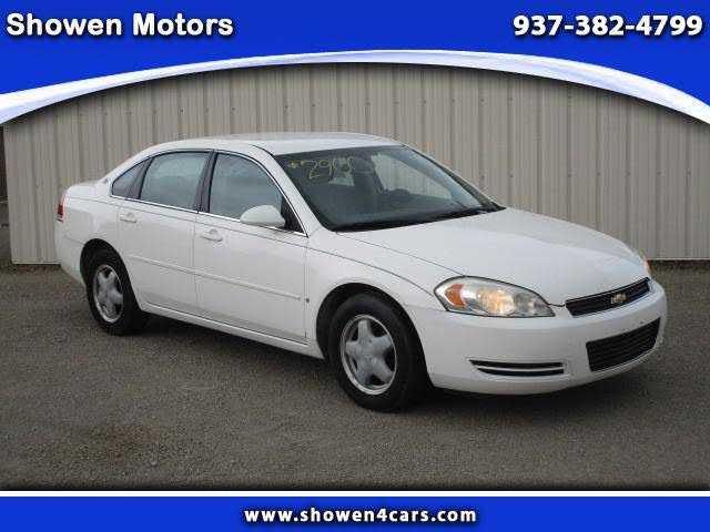 Chevrolet Impala 2007 $2900.00 incacar.com