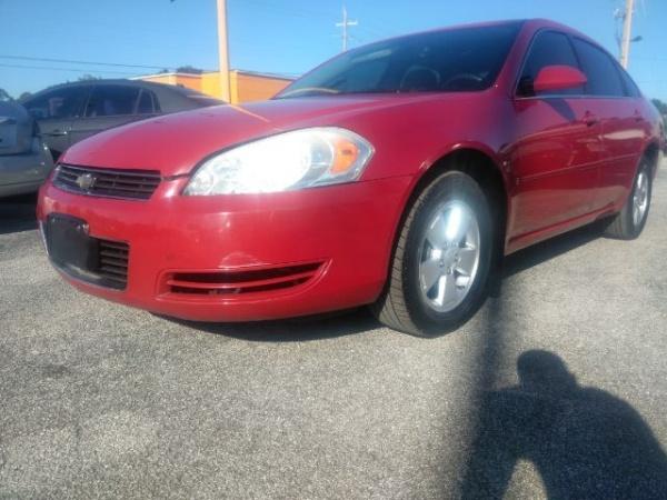 used Chevrolet Impala 2007 vin: 2G1WT55N679360482