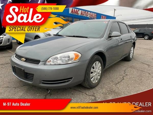 used Chevrolet Impala 2008 vin: 2G1WB58K081246207