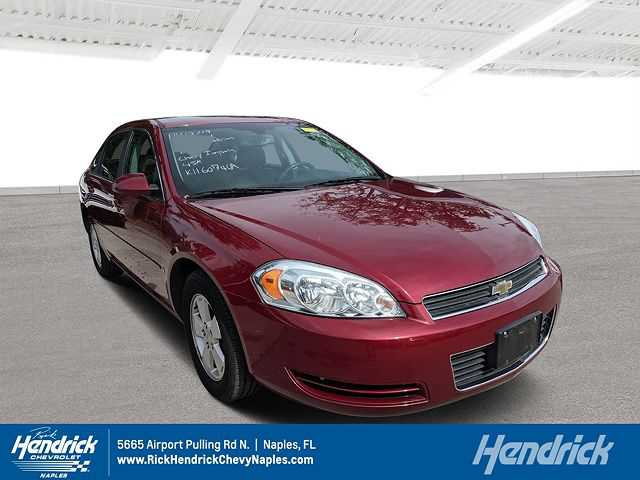 used Chevrolet Impala 2008 vin: 2G1WT58K781290072