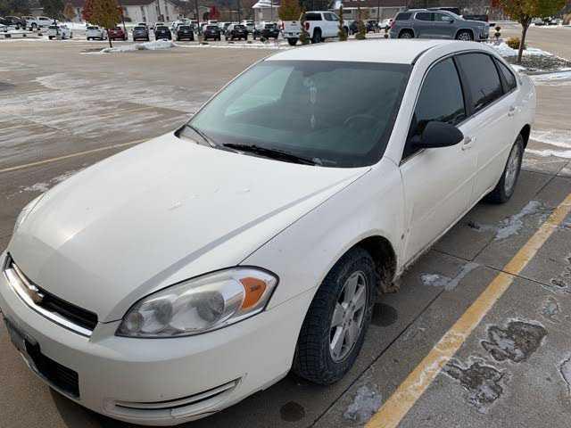 used Chevrolet Impala 2008 vin: 2G1WT58K581298946