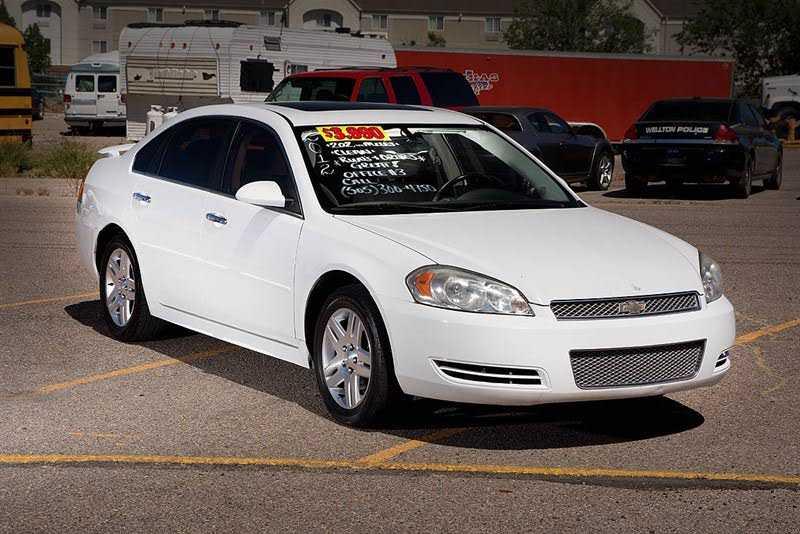 Chevrolet Impala 2012 $3990.00 incacar.com
