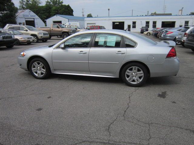 Chevrolet Impala 2013 $8734.00 incacar.com