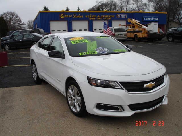 Chevrolet Impala 2016 $16900.00 incacar.com