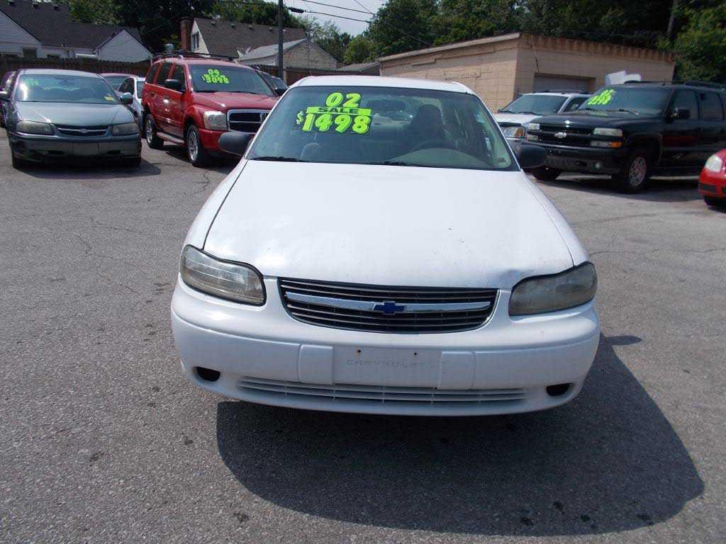 Chevrolet Malibu 2002 $1498.00 incacar.com