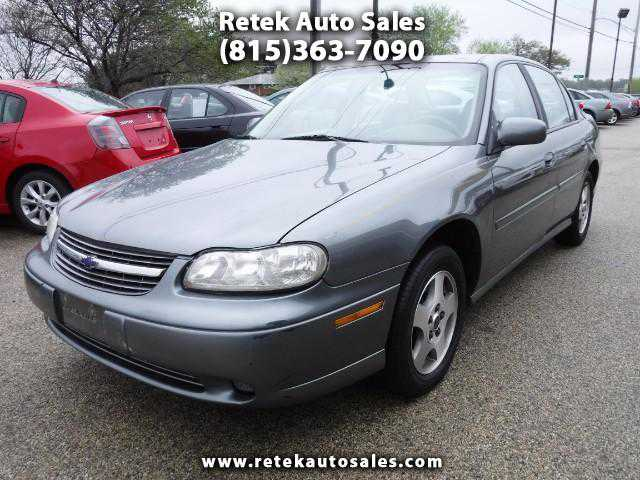 Chevrolet Malibu 2003 $1493.00 incacar.com