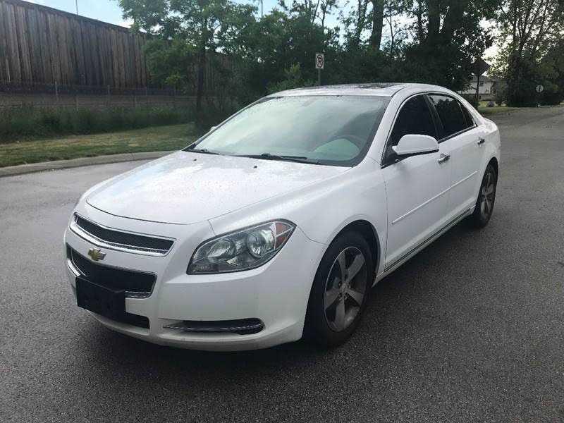 Chevrolet Malibu 2012 $3799.00 incacar.com