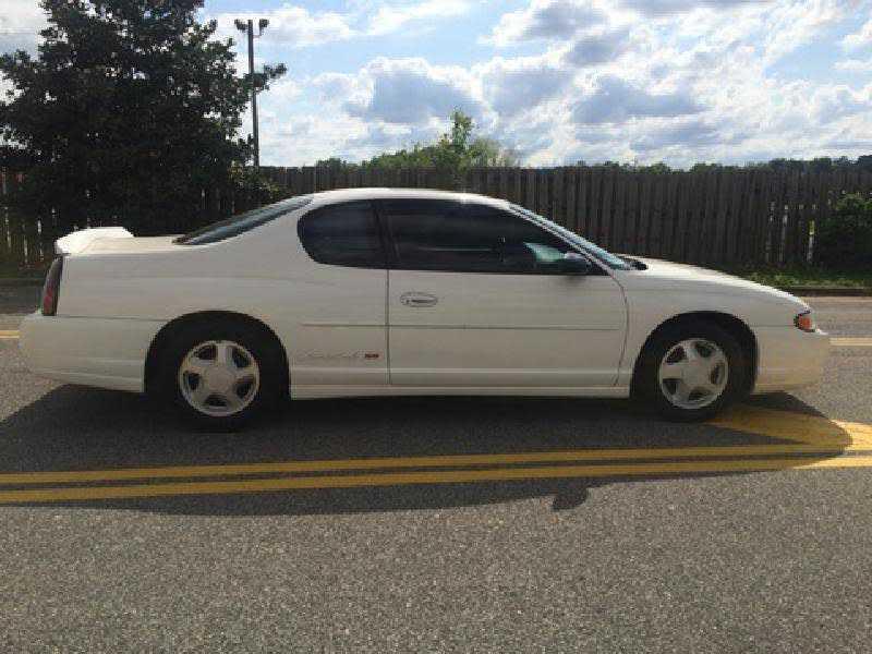 Chevrolet Monte Carlo 2001 $5855.00 incacar.com