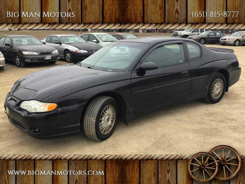 Chevrolet Monte Carlo 2002 $1400.00 incacar.com