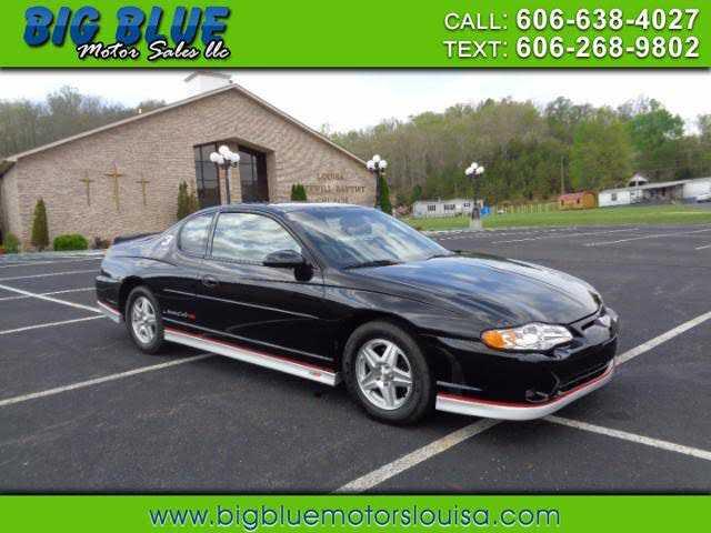 Chevrolet Monte Carlo 2002 $19988.00 incacar.com