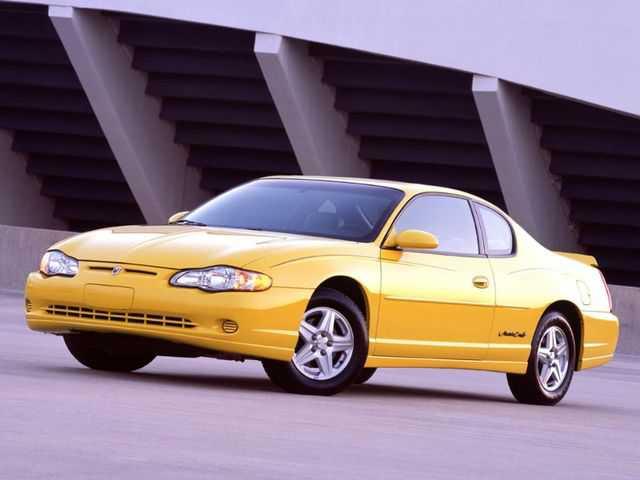 Chevrolet Monte Carlo 2003 $1499.00 incacar.com