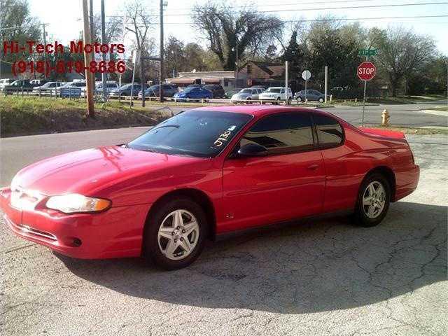 Chevrolet Monte Carlo 2004 $1000.00 incacar.com
