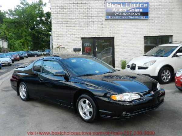 Chevrolet Monte Carlo 2005 $3995.00 incacar.com