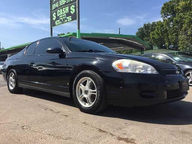 Chevrolet Monte Carlo 2007 $2450.00 incacar.com