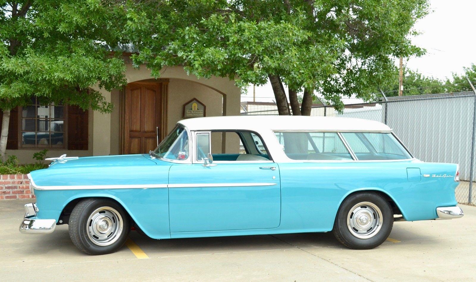 Chevrolet Nomad 1955 $58500.00 incacar.com
