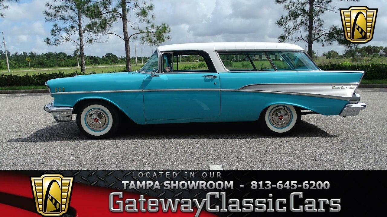 Chevrolet Nomad 1957 $70000.00 incacar.com