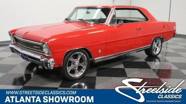 Chevrolet Nova 1966 $15600.00 incacar.com