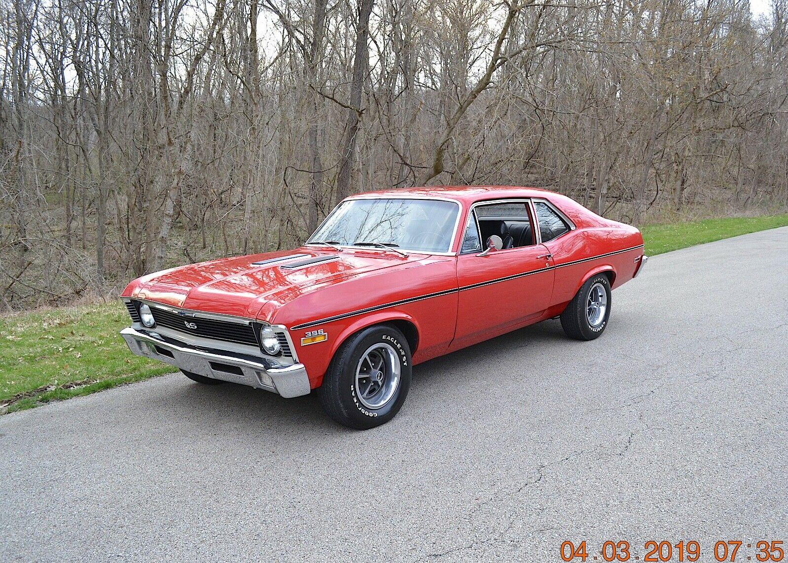 Chevrolet Nova 1970 $31100.00 incacar.com