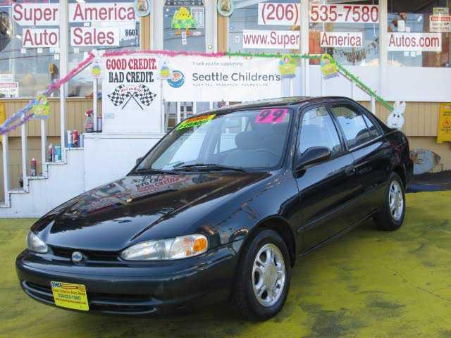 Chevrolet Prizm 1999 $2499.00 incacar.com