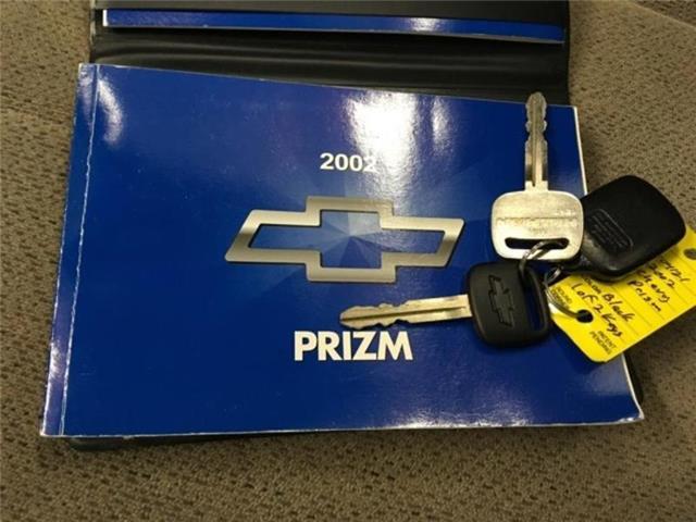 used Chevrolet Prizm 2002 vin: 1Y1SK52822Z419075