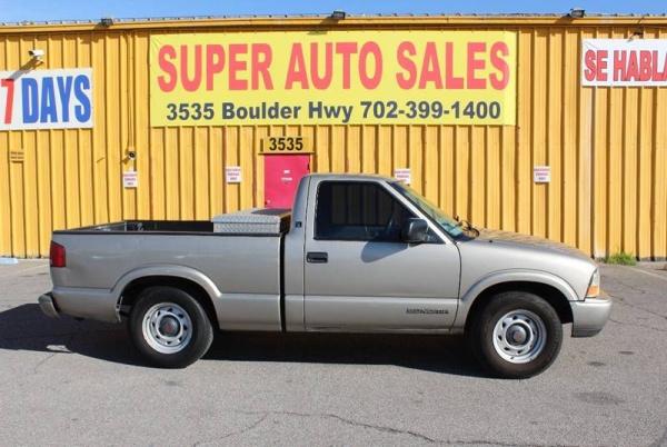 Chevrolet S-10 1998 $4999.00 incacar.com