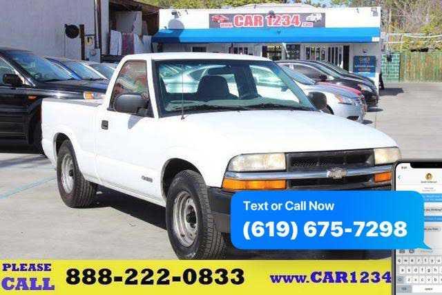 used Chevrolet S-10 1999 vin: 1GCCS1448X8175750