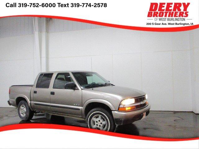 used Chevrolet S-10 2001 vin: 1GCDT13W71K237492