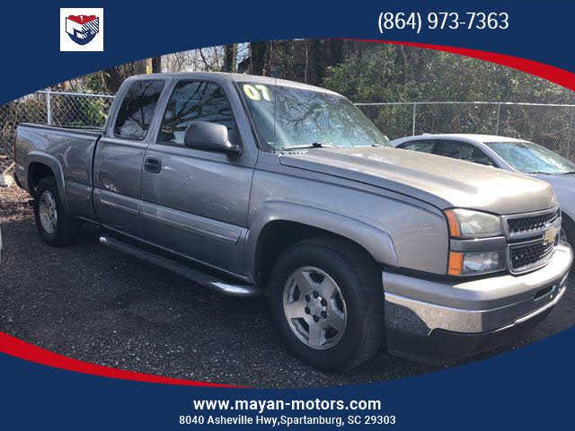 Chevrolet Silverado 2007 $12000.00 incacar.com