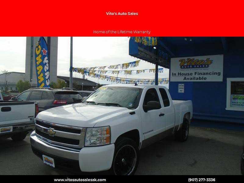 Chevrolet Silverado 2008 $5999.00 incacar.com