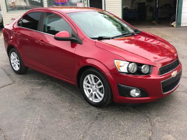 used Chevrolet Sonic 2012 vin: 1G1JD5SH4C4130474
