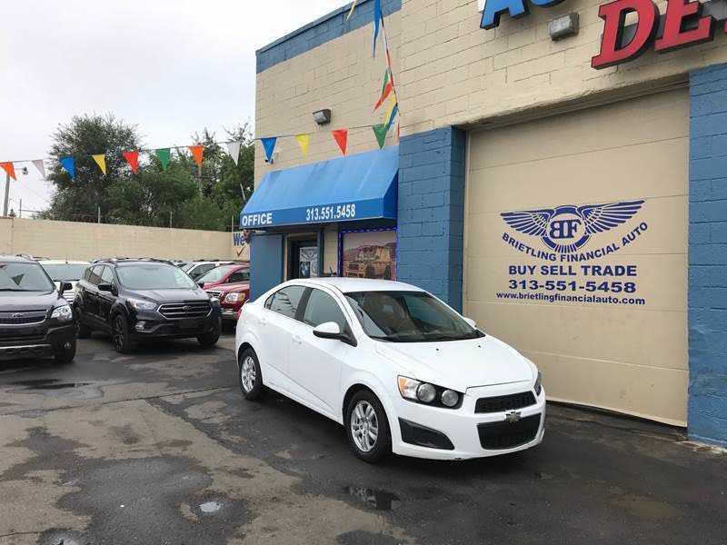 Chevrolet Sonic 2012 $3799.00 incacar.com