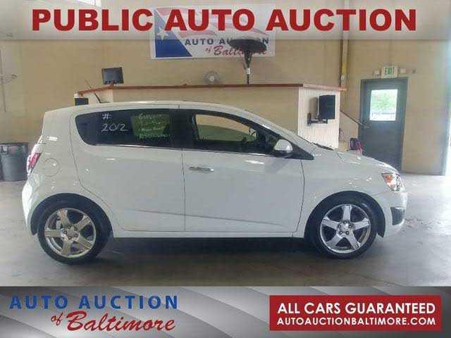 Chevrolet Sonic 2012 $2700.00 incacar.com