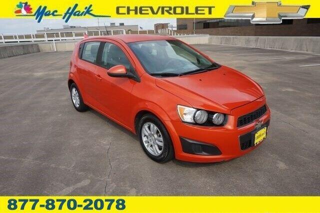 Chevrolet Sonic 2012 $5595.00 incacar.com