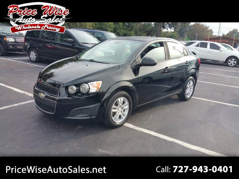 Chevrolet Sonic 2012 $3395.00 incacar.com