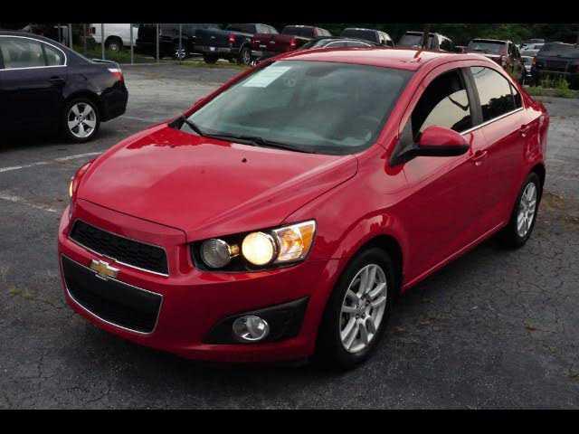 Chevrolet Sonic 2013 $5490.00 incacar.com